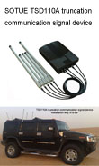 Bomb jammer, GPS/cell jammer, phone signal jammer, truncation communication signal device
