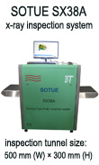 X-ray machine, x-ray baggage scanner, conveyor type x-ray screening system