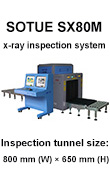 Baggage scanner, vehicular type x-ray inspection cargo system